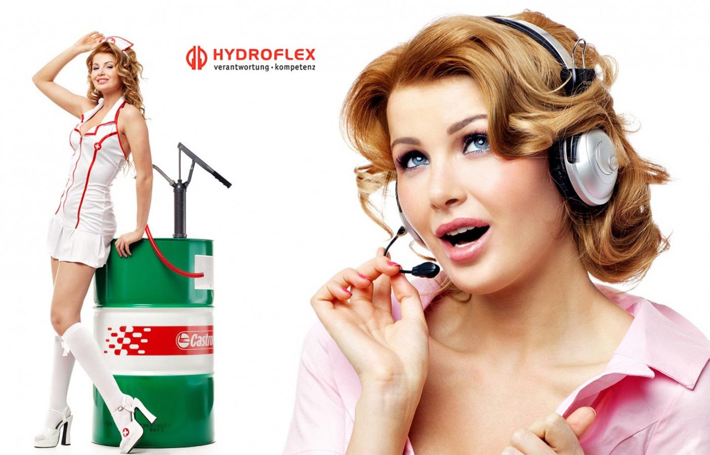 Hydroflex. Рекламная съемка, фотограф Лена Волкова
